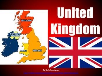Iceland, Ireland, United Kingdom PowerPoints Bundle