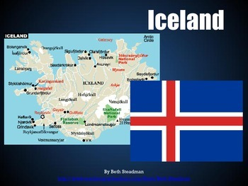 Iceland, Ireland, United Kingdom PowerPoints Bundle