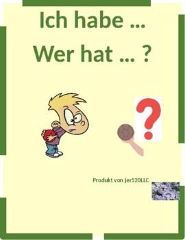 Farben und Formen (Colors and Shapes in German) Ich habe Wer hat