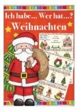 Ich habe ... Wer hat? WEIHNACHTEN - Spiel Wortschatz DAF / Deutsch, German game