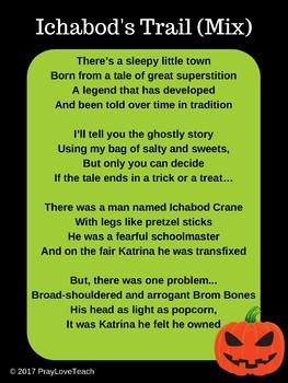 Ichabod's Trail (Mix) Poem - The Legend of Sleepy Hollow