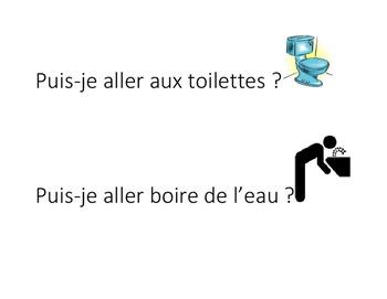 Ici on parle en Français et Puis-je...? - French Posters