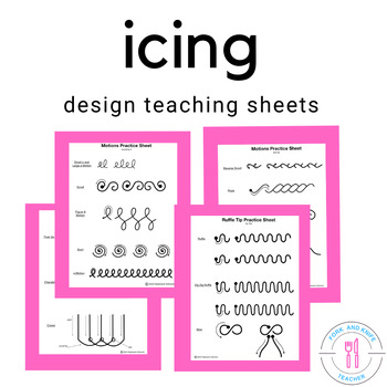 Icing Practice Sheets (Family and Consumer Science, FACS, FCS)