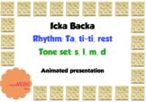 Icka Backa song for ta titi za & lsmd. Animated slideshow, games & worksheets