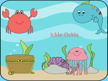 """Ickle Ockle: A song using the pitches, """"mi so la"""""""