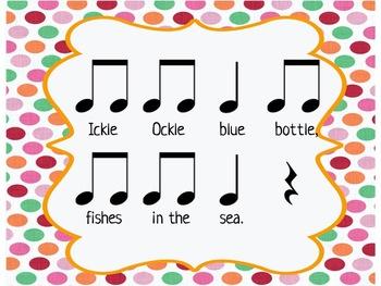 Ickle Ockle- Teaching Ta, Ti-ti, Ta rest, and Sol-La-Mi