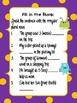 Icky Irregulars- Plural Nouns