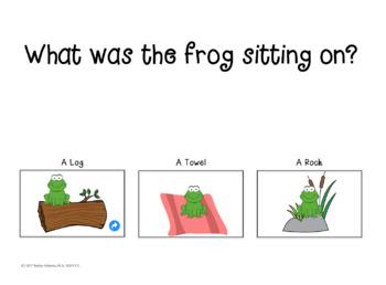 Icky Sticky Frog! Interactive Book Companion