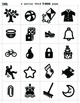 Icon Art Collection for 4 Letter Words