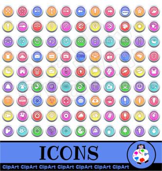 Icon Clip Art Mega Pack