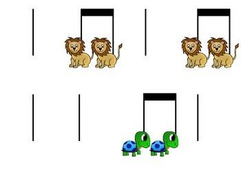 Iconic & Stick Notation - ta & titi practice