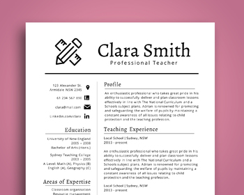 original 3714414 1 - Awesome iconic resume template