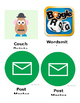 Icons Team Set for iPhone Job Chart EDITABLE