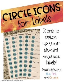 Icons for Student Labels