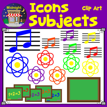 Icons for Subjects
