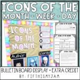 Historical Icons Bulletin Board Display Extra Credit