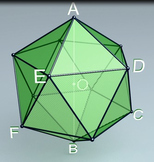 Icosahedron (3d video model)