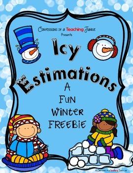 Icy Estimations – An Estimation Craftivity FREEBIE
