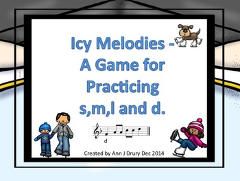 Icy Melodies - A Game to Practice so,mi,la and do (staff notation)