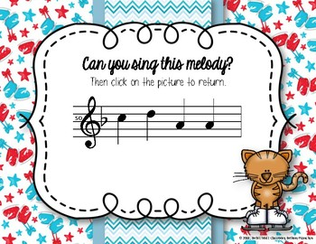 Icy Melodies - Interactive Melodic Practice Game - La