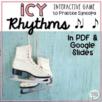 Icy Rhythms - Interactive Rhythmic Practice Game - Syncopa