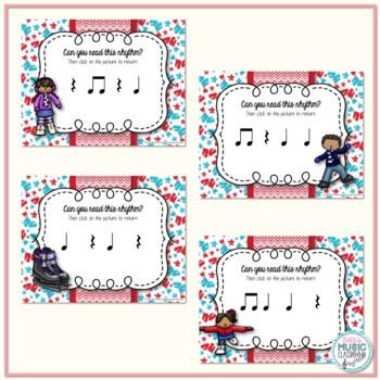 Icy Rhythms - Interactive Rhythmic Practice Game - Ta Rest