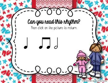 Icy Rhythms - Interactive Rhythmic Practice Game - Ta-a
