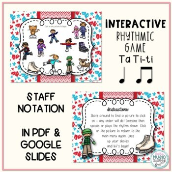 Icy Rhythms - Interactive Rhythmic Practice Game - Ta ti-ti