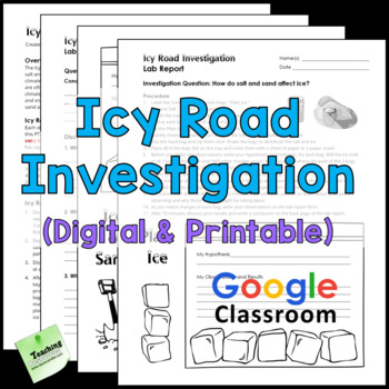 Icy Road Investigation | Hands-on Winter Science Experiment