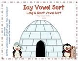 Icy Vowel Sort: Long & Short Vowel Word Sort