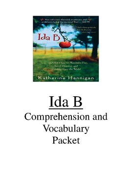 Ida B Comprehension and Vocabulary Packet
