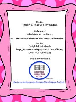 """Ida B"" Trifold Activity McGraw Hill Reading Wonders 5th Grade"