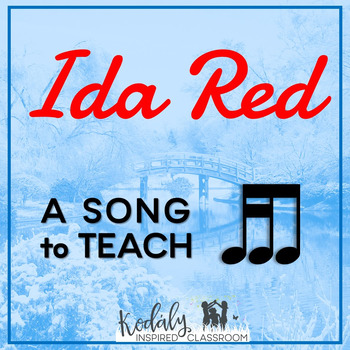 Ida Red: Slides for teaching tika-ti and singing games