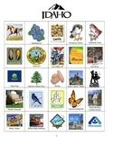 Idaho Bingo:  State Symbols and Popular Sites