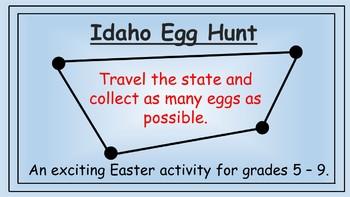 Idaho Easter Math Activity