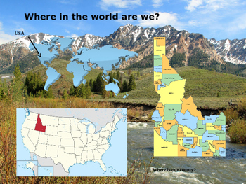 Idaho History PowerPoint - Part I