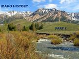 Idaho History PowerPoint - Part I