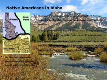 Idaho History PowerPoint - Part II