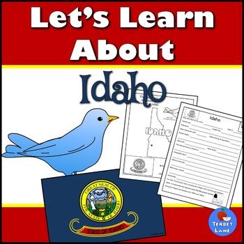 Idaho History and Symbols Unit Study