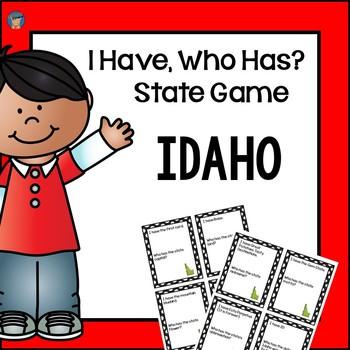 Idaho I Have, Who Has Game