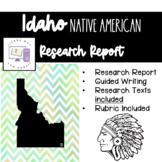 Idaho Native American Research Report