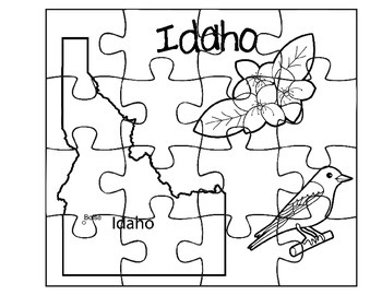 Idaho Puzzle Set