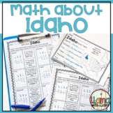 Math about Idaho State Symbols through Subtraction Practice