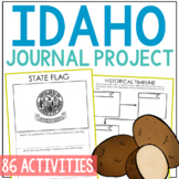 IDAHO History Guided Research Project, Notebook Journal Pa