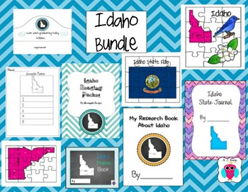 Idaho Resource Bundle-9 Resources