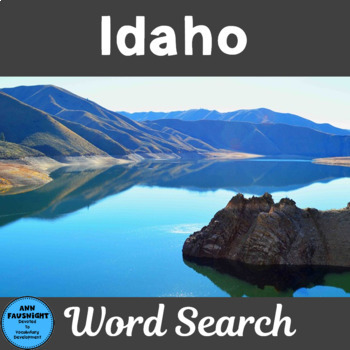 Idaho Search and Find
