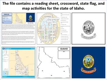 Idaho - State Activity Set