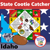 Idaho State Facts and Symbols Cootie Catcher Distance Lear