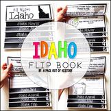 Idaho State Flipbook Interactive Activity for Social Studies