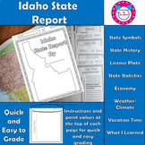 Idaho State Report